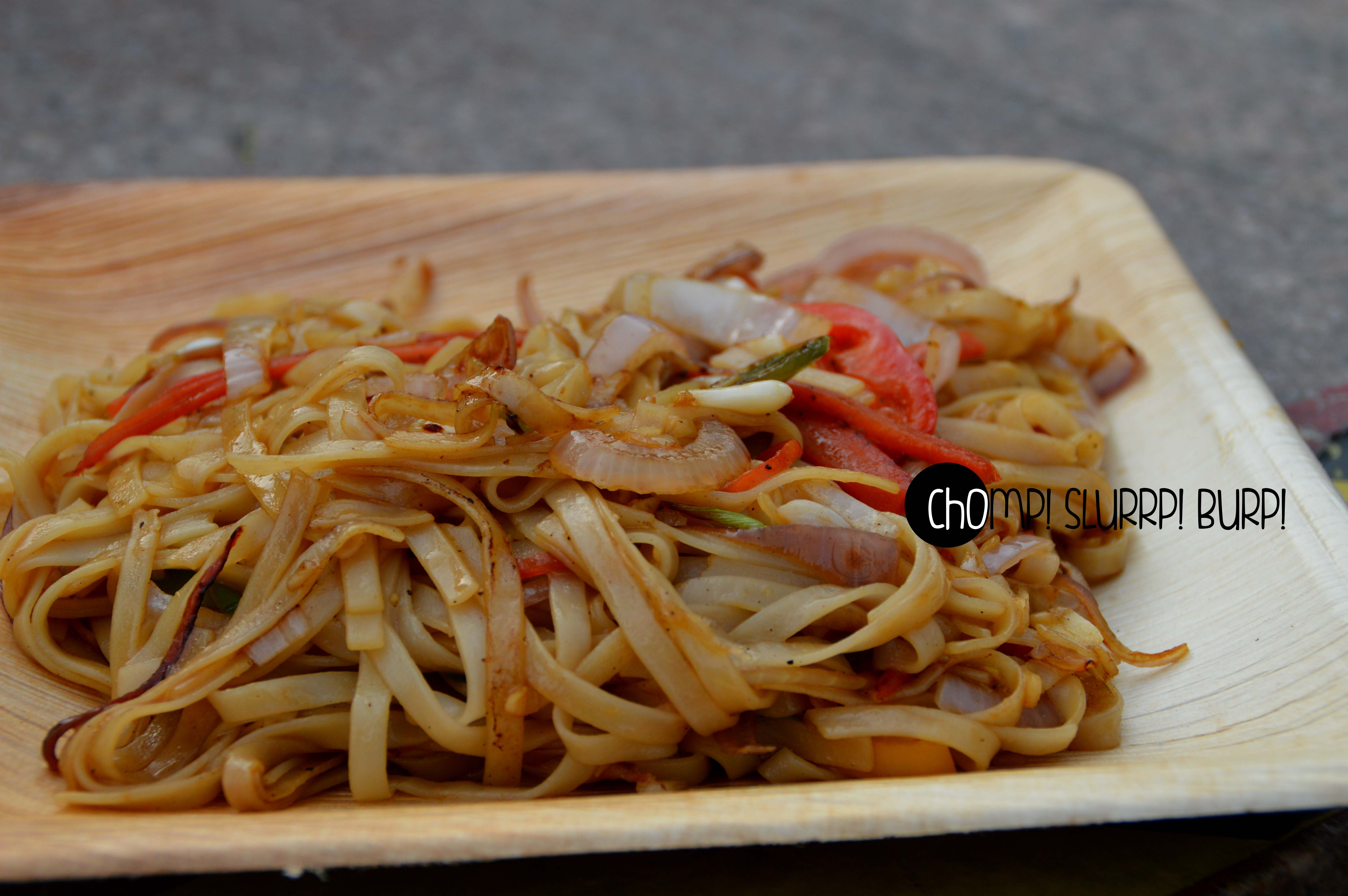 hubachi udon noodles with garlic soya sauce