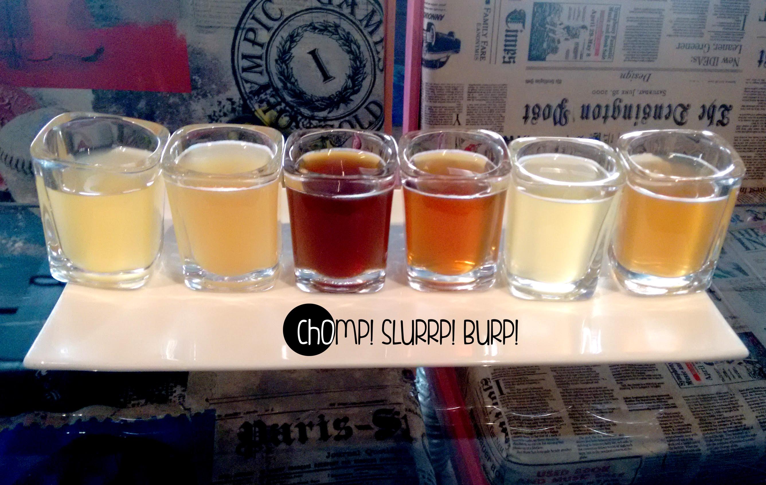 Beer sampler]
