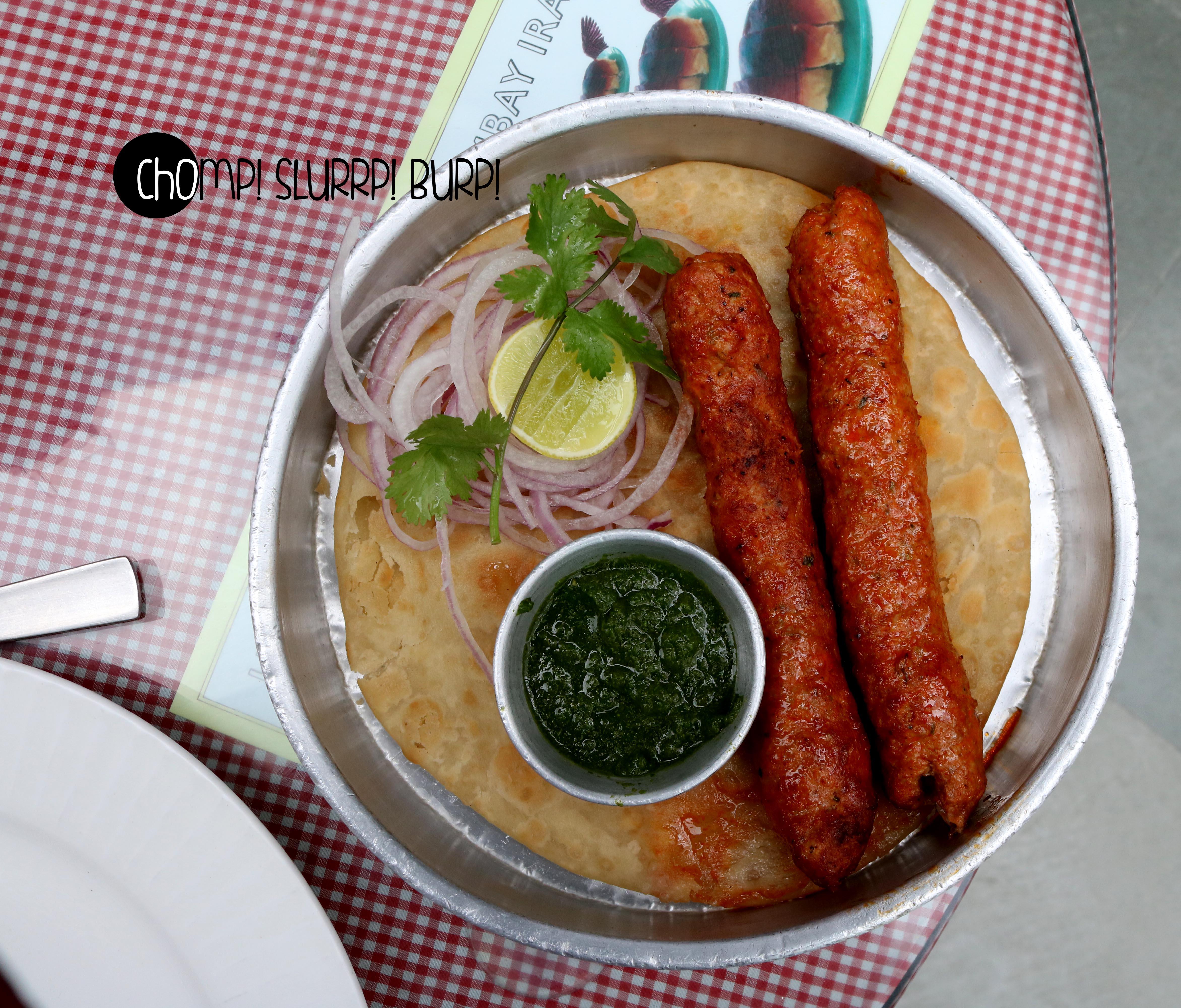Bhendi Bazaar ke seekh parantha (2)
