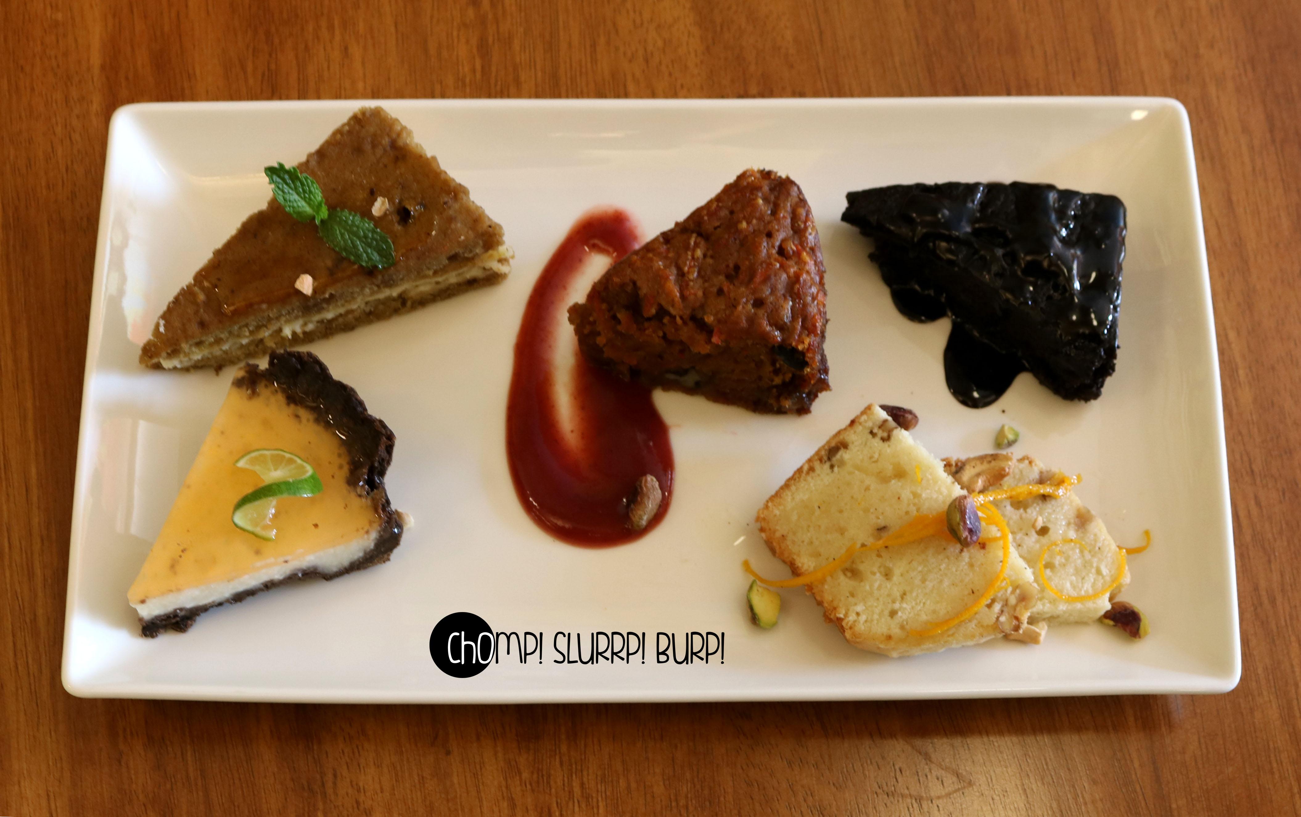 Dessert platter (2)