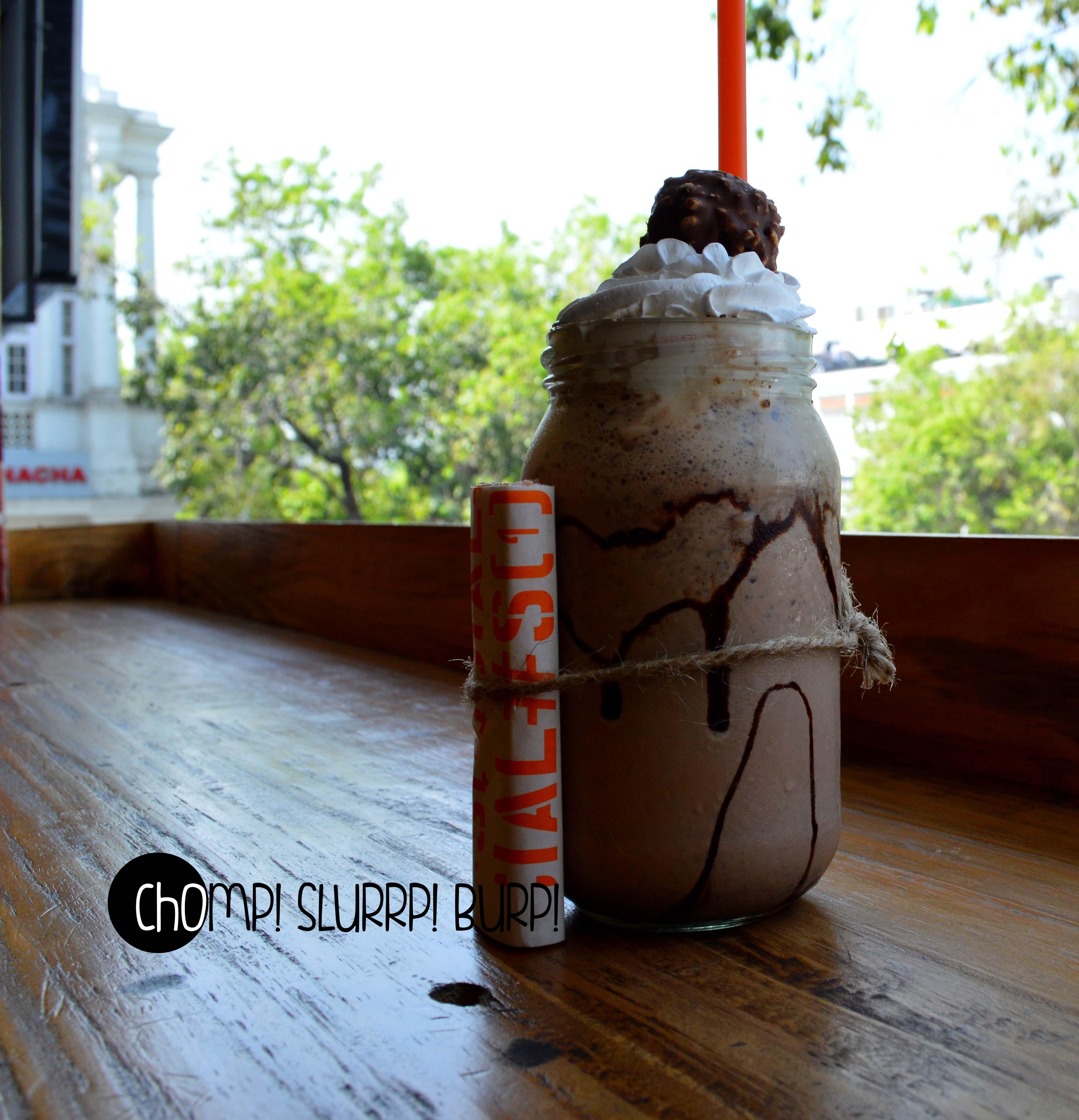 fererro rocher shake