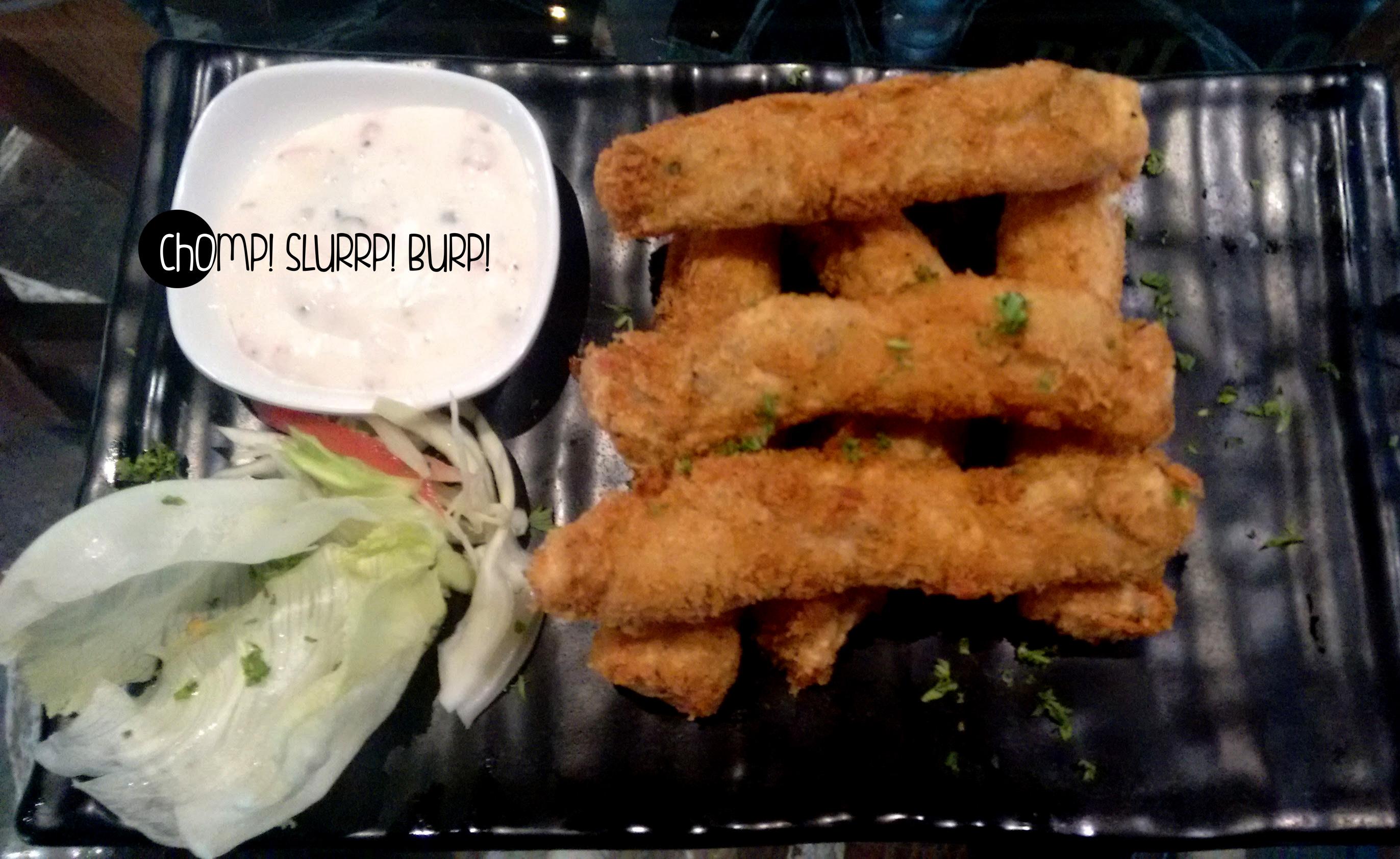 Panko crusted fish fingers (2)