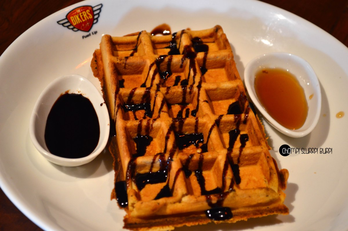 Chef's special waffles