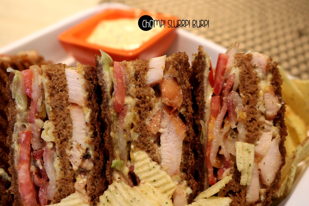 House Smoked Chicken Brown Bread Sandwich (2)
