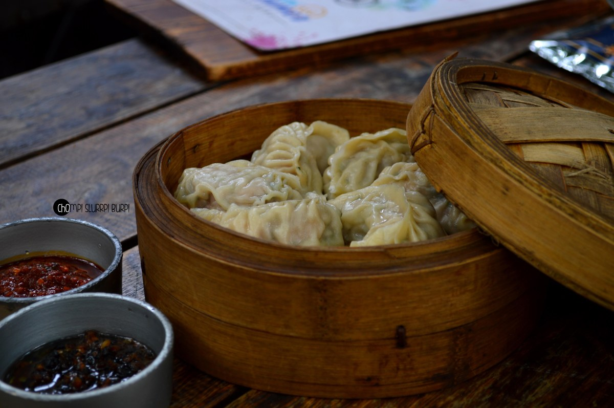 chilly chicken dimsums