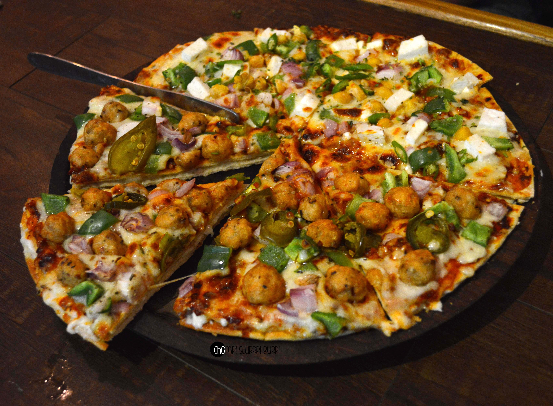 half n half pizza