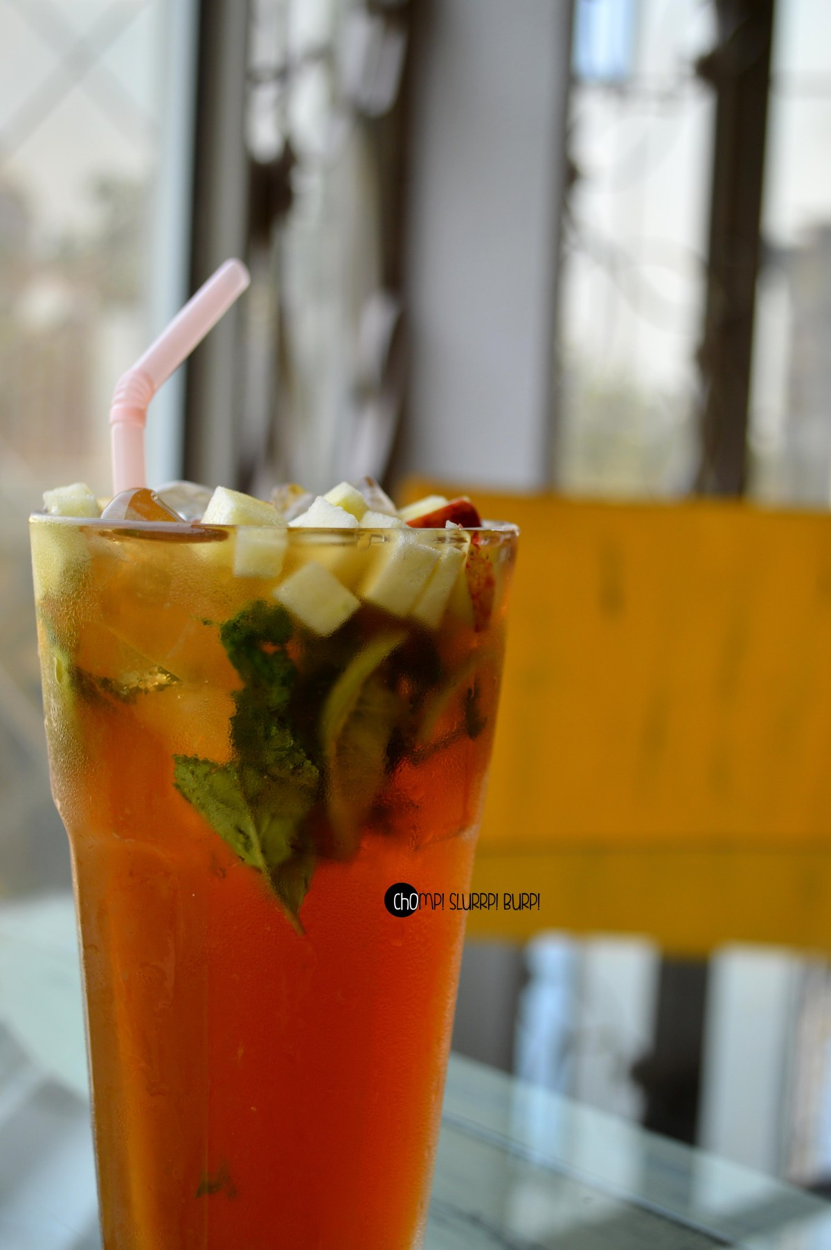 apple cinammon iced tea