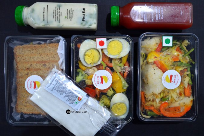 Fusion Salads And Healthy Fix With Firsteat In Chomp Slurrp Burp