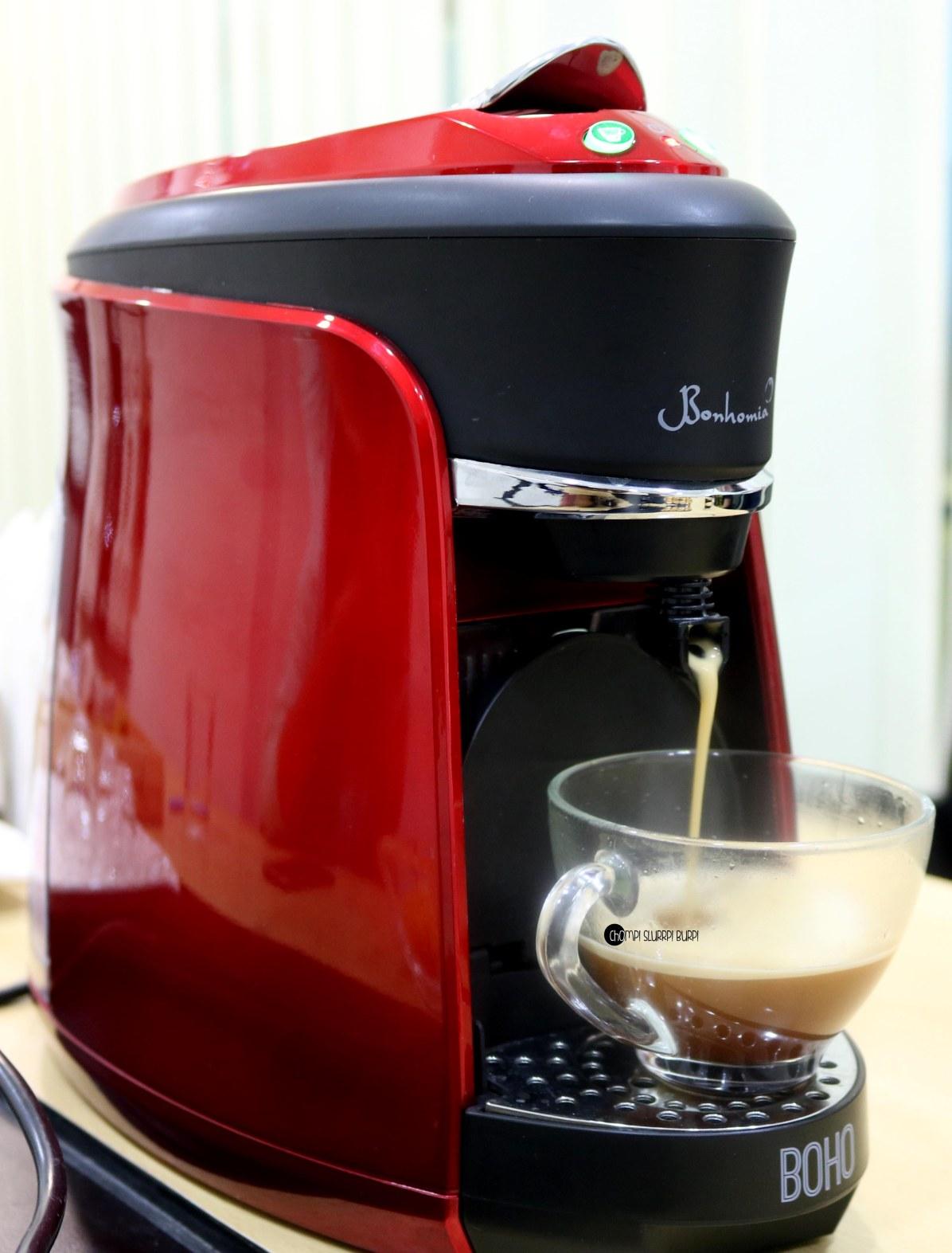 Boho coffee machine