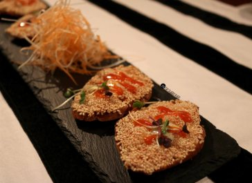Prawn and Crab Toast