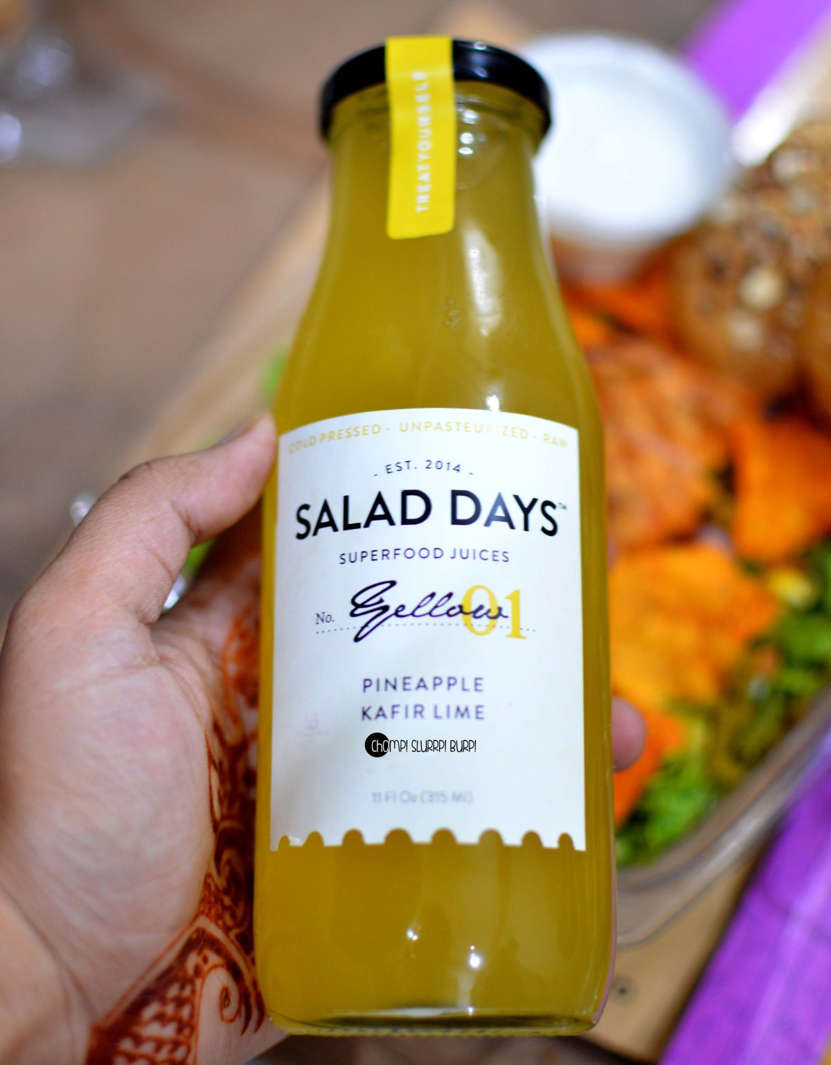 Salad days (8)