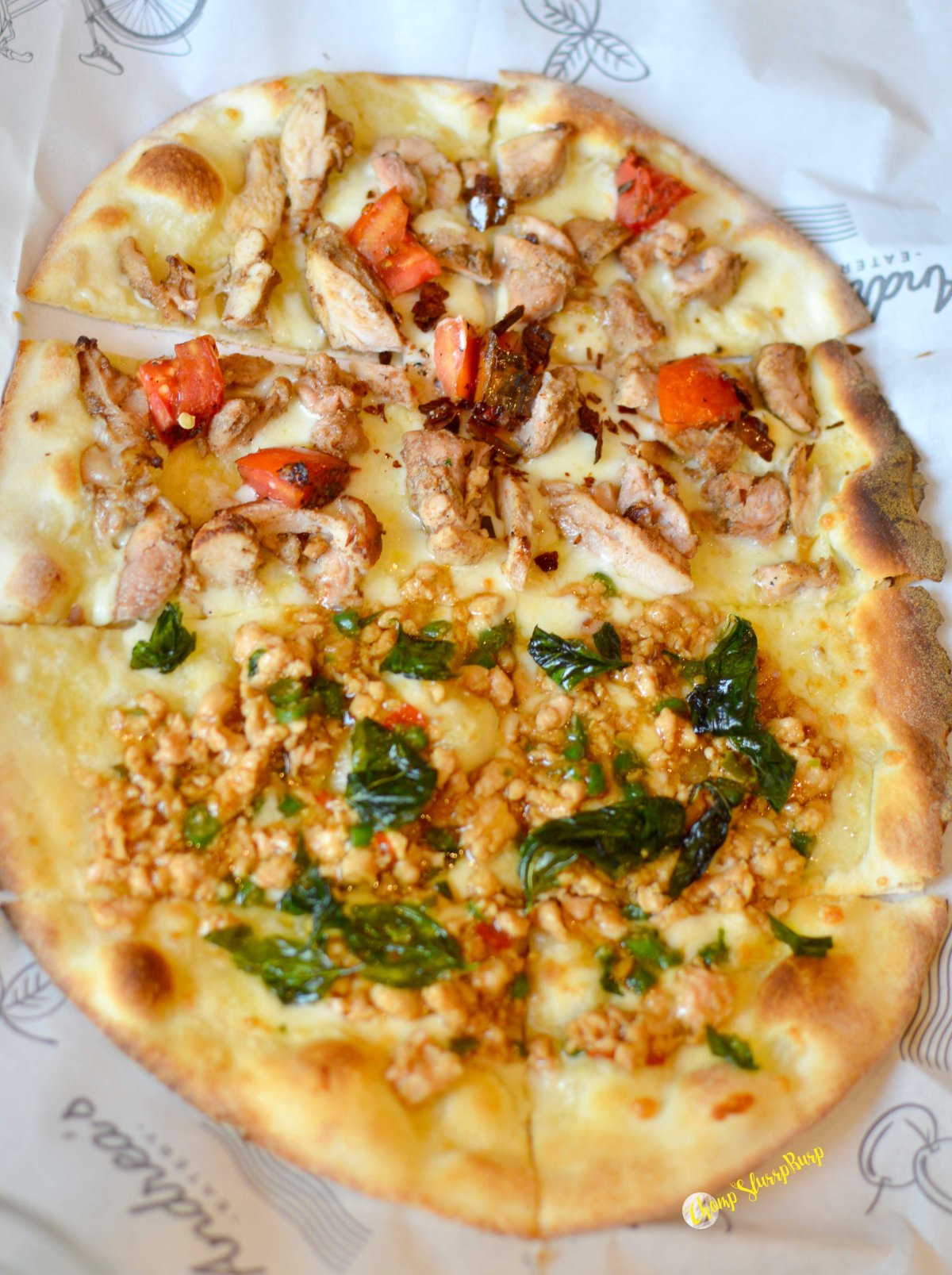 Pizza from amici
