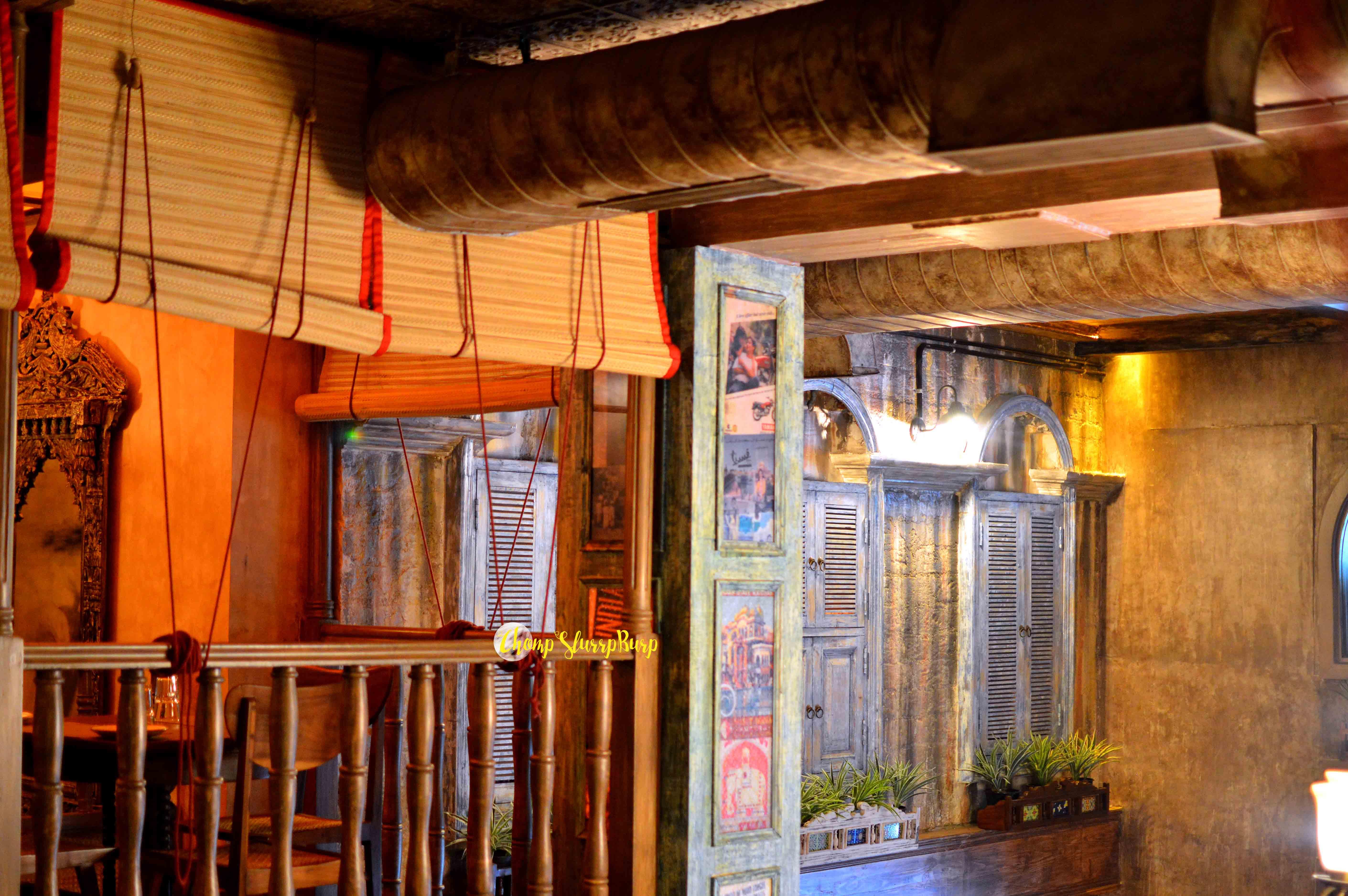 Bollywood themed cafe