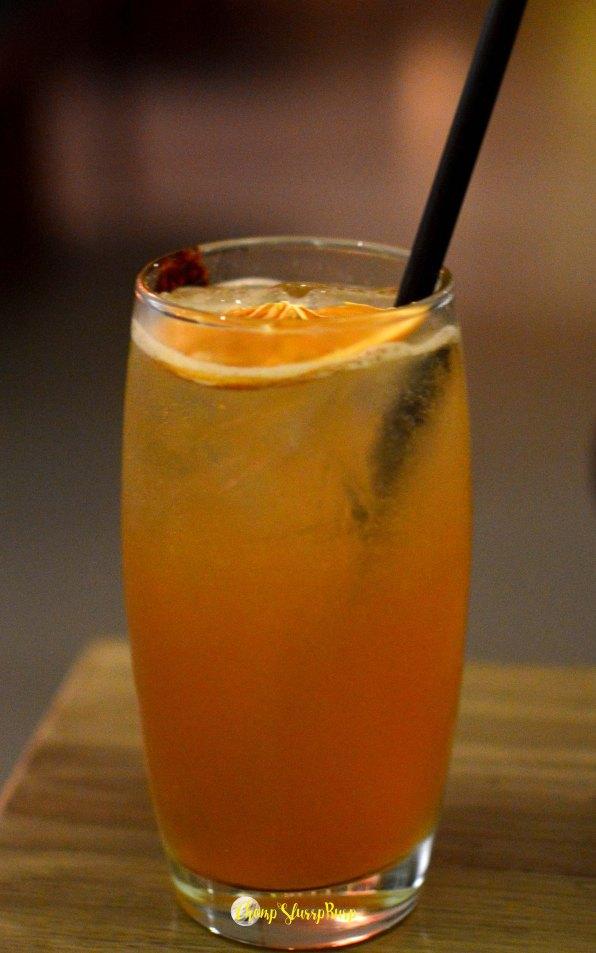 Kyoto Martini with shochu and jasmine tea