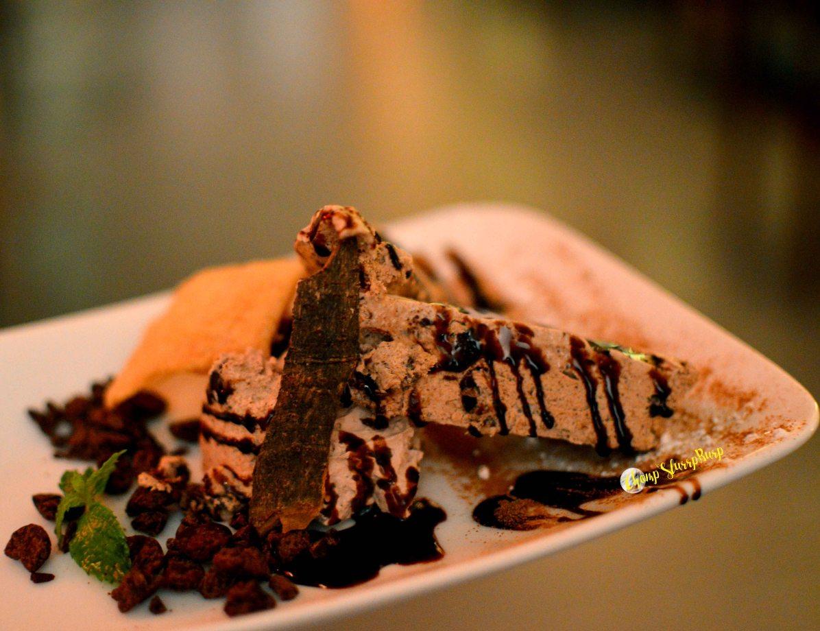 Dark Chocolate Semifreddo