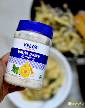 The white pasta sauce by VEEBA
