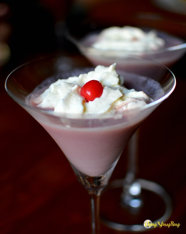 whipped cream cocktail