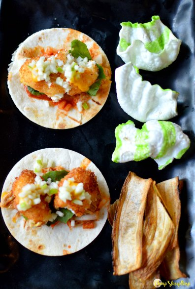 Fried Goat Cheese Taco