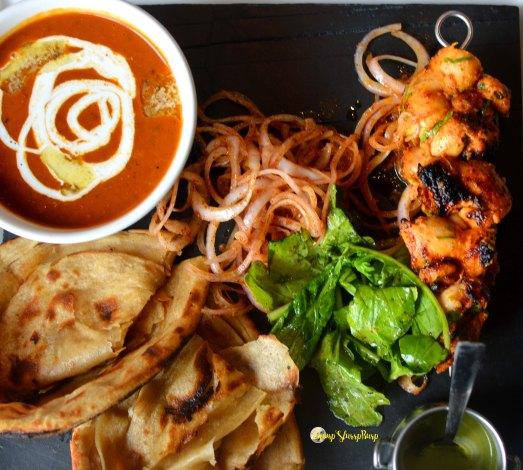 Chicken Jaanam tikka platter