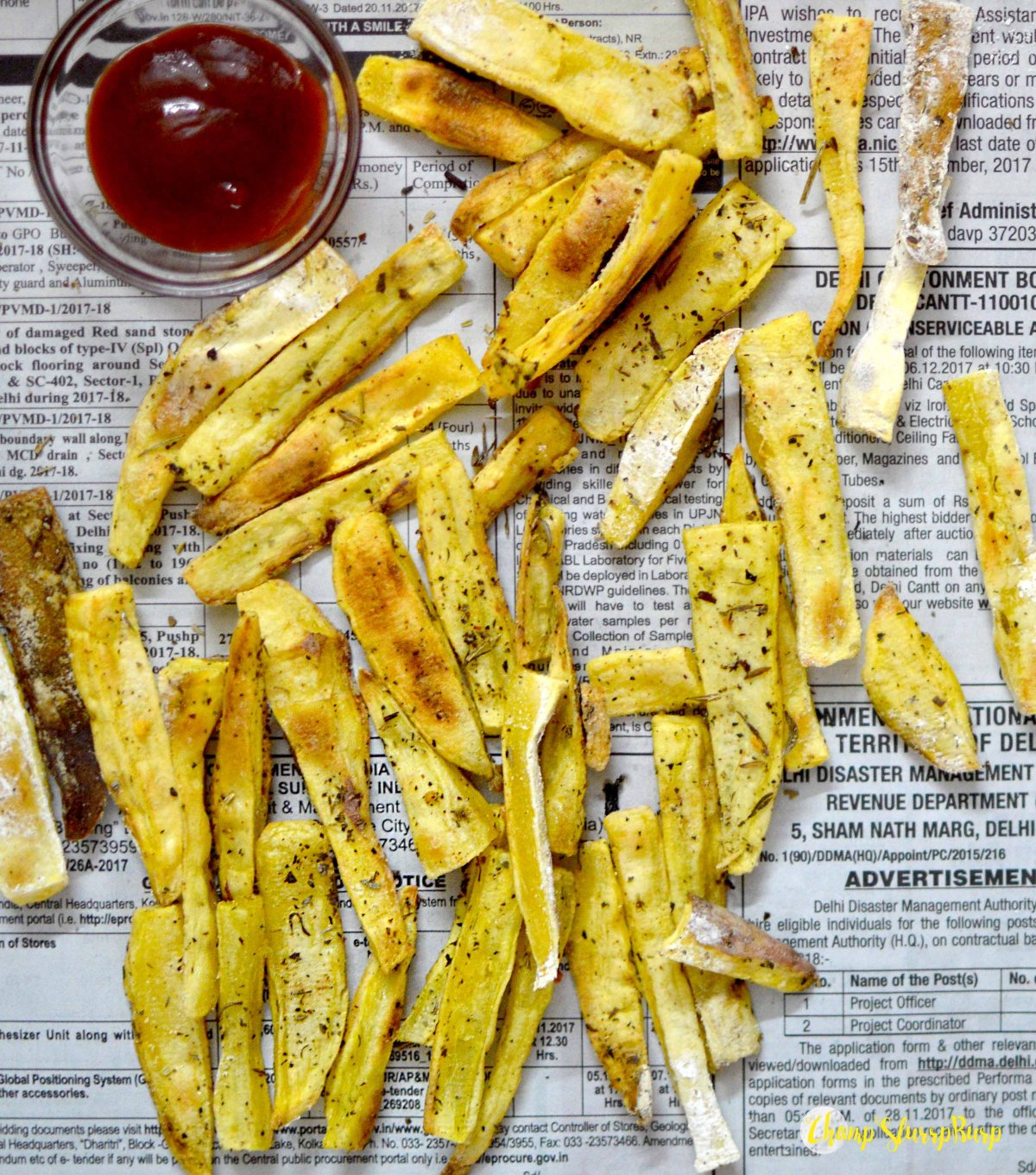 Sweet potato fries (3)