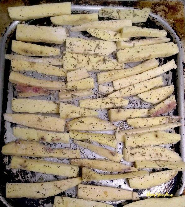 Sweet Potato fries (9)
