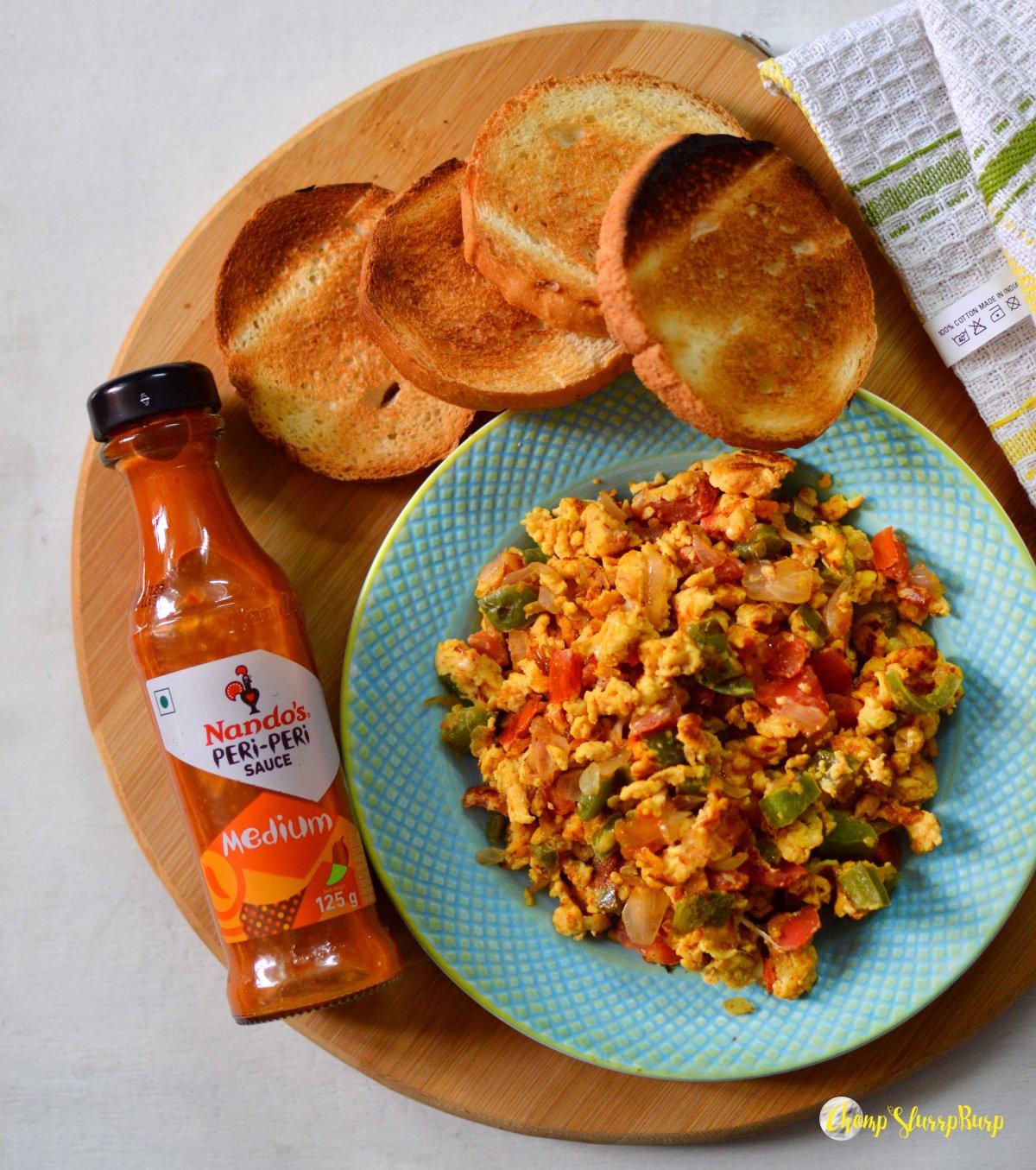 Peri Peri egg bhurji (1)