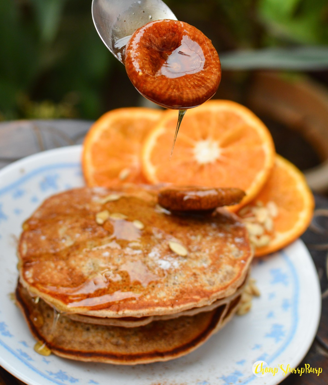 Vegan cinnamon pancakes (3)