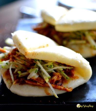 Pulled duck Bao