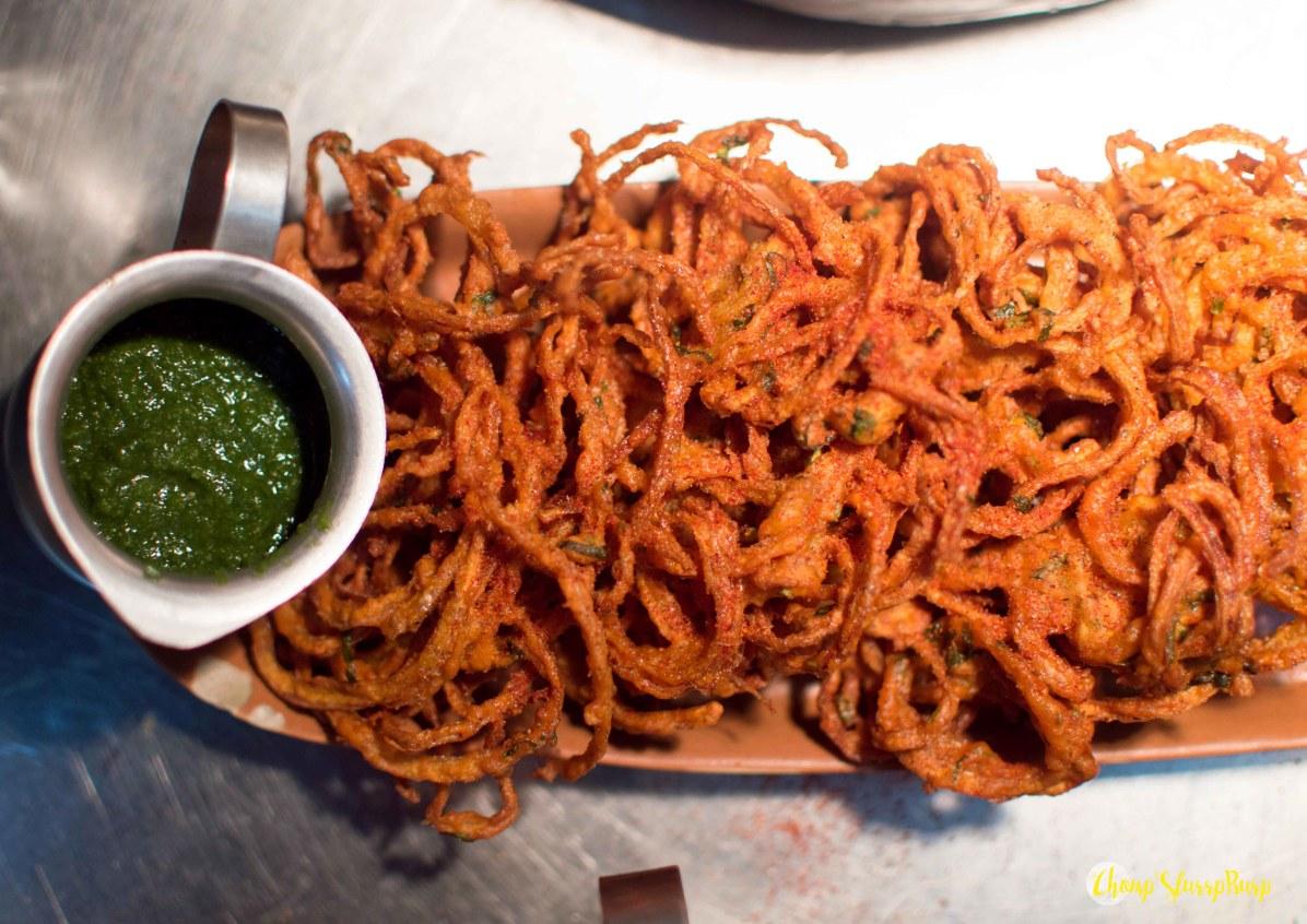 Gluten free Kaanda Bhajiya