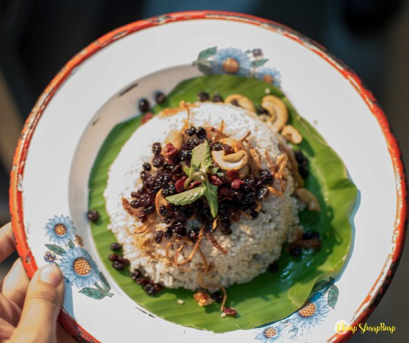 Mutton berry pulav with barnyard millets