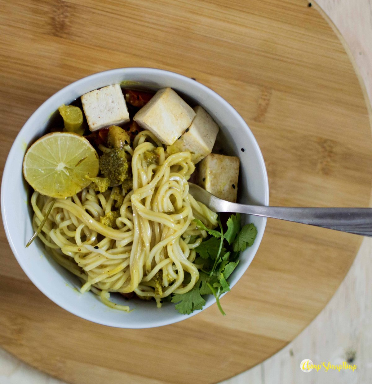 Coconut lemongrass noodle bowl (2)