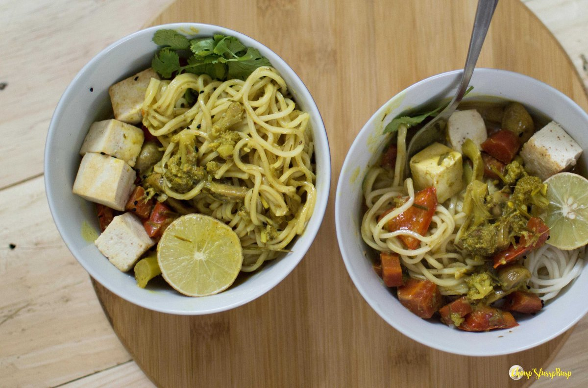 Coconut lemongrass noodle bowl (5)