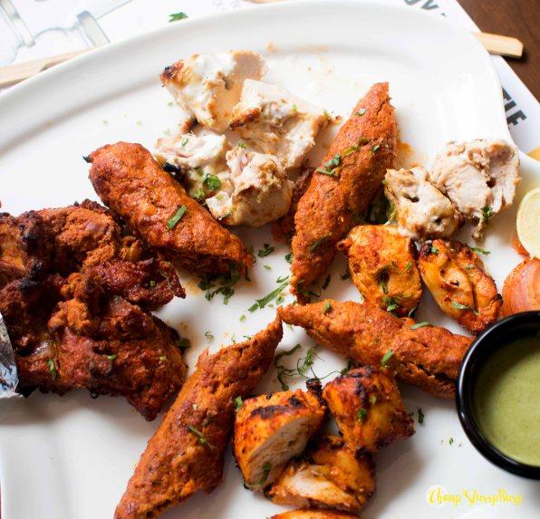 Non vegetarian Kebab Platter
