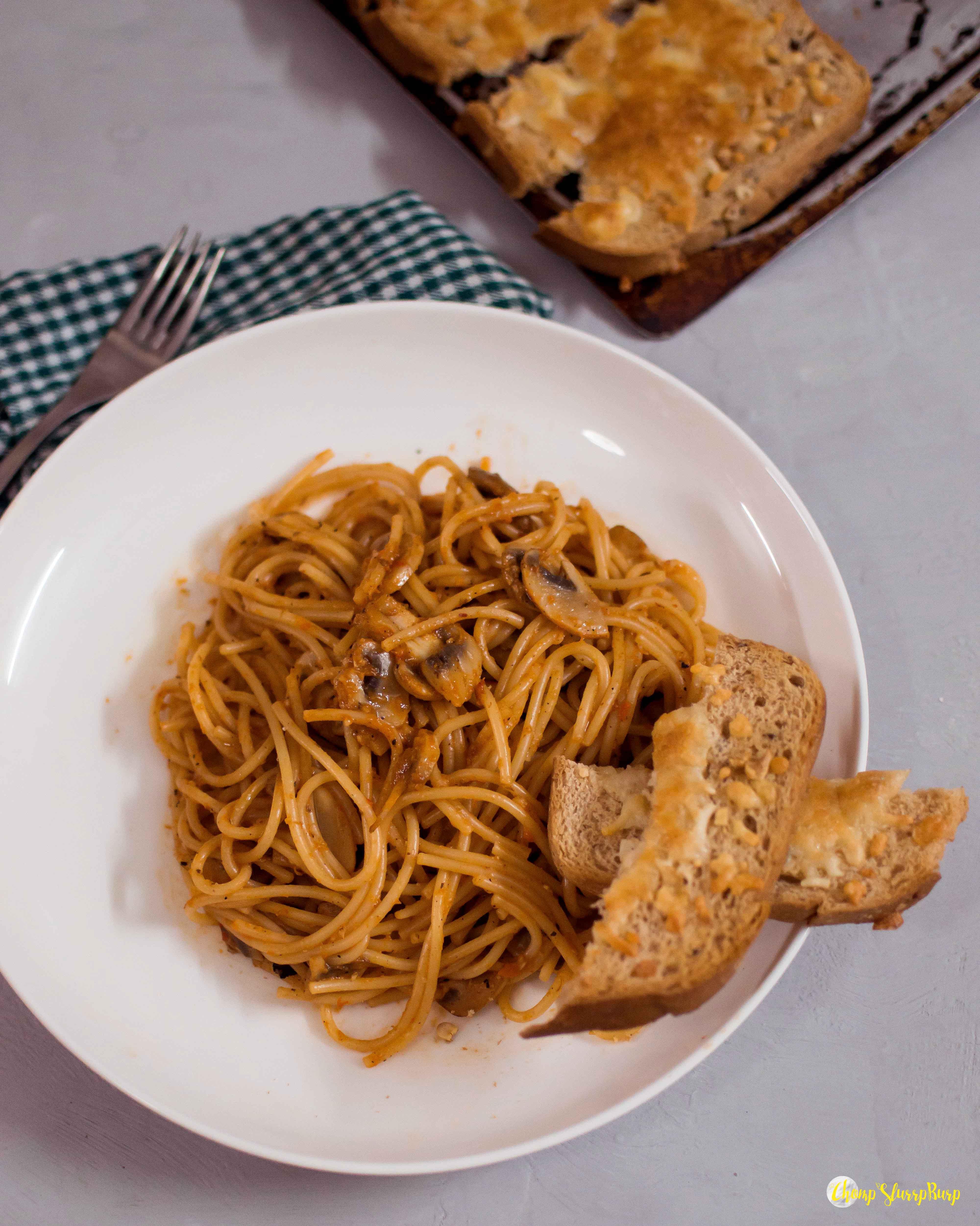 Roasted bell pepper pasta (2)