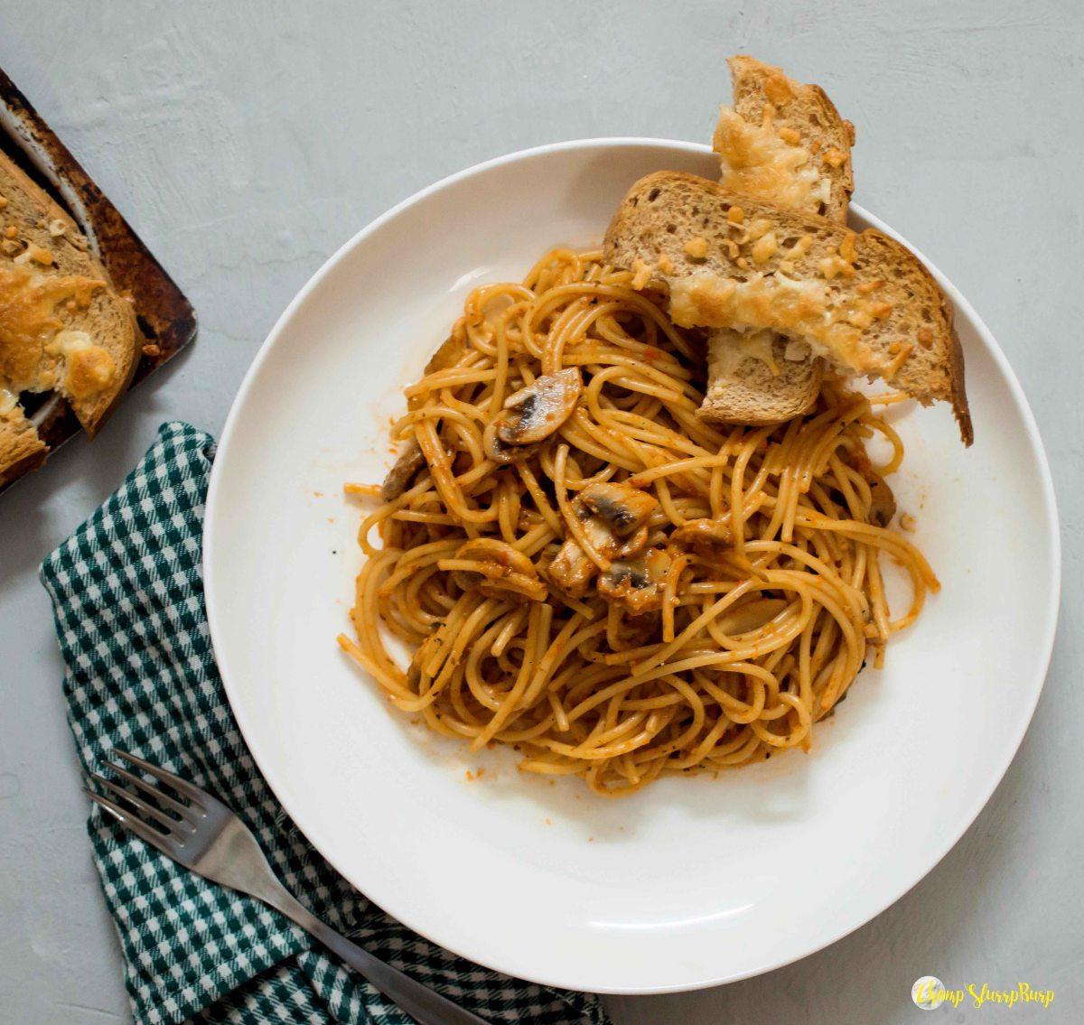 Roasted bell pepper pasta (4)