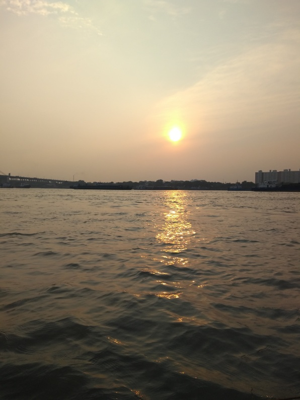 Sunset at Hooghly