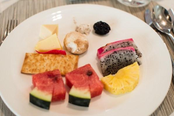 Fresh fruit platter day 1