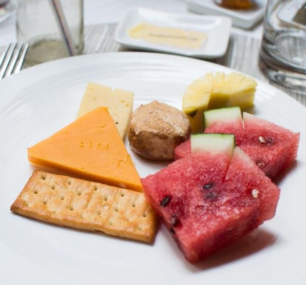 Fresh fruit platter day 2