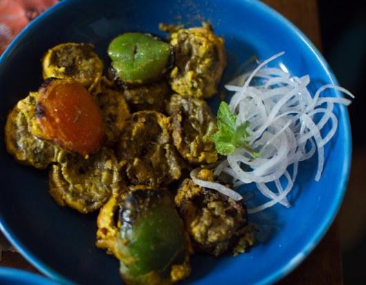 Himalayam spiced mushrooms