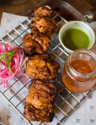 Rajputana murg sula kebab
