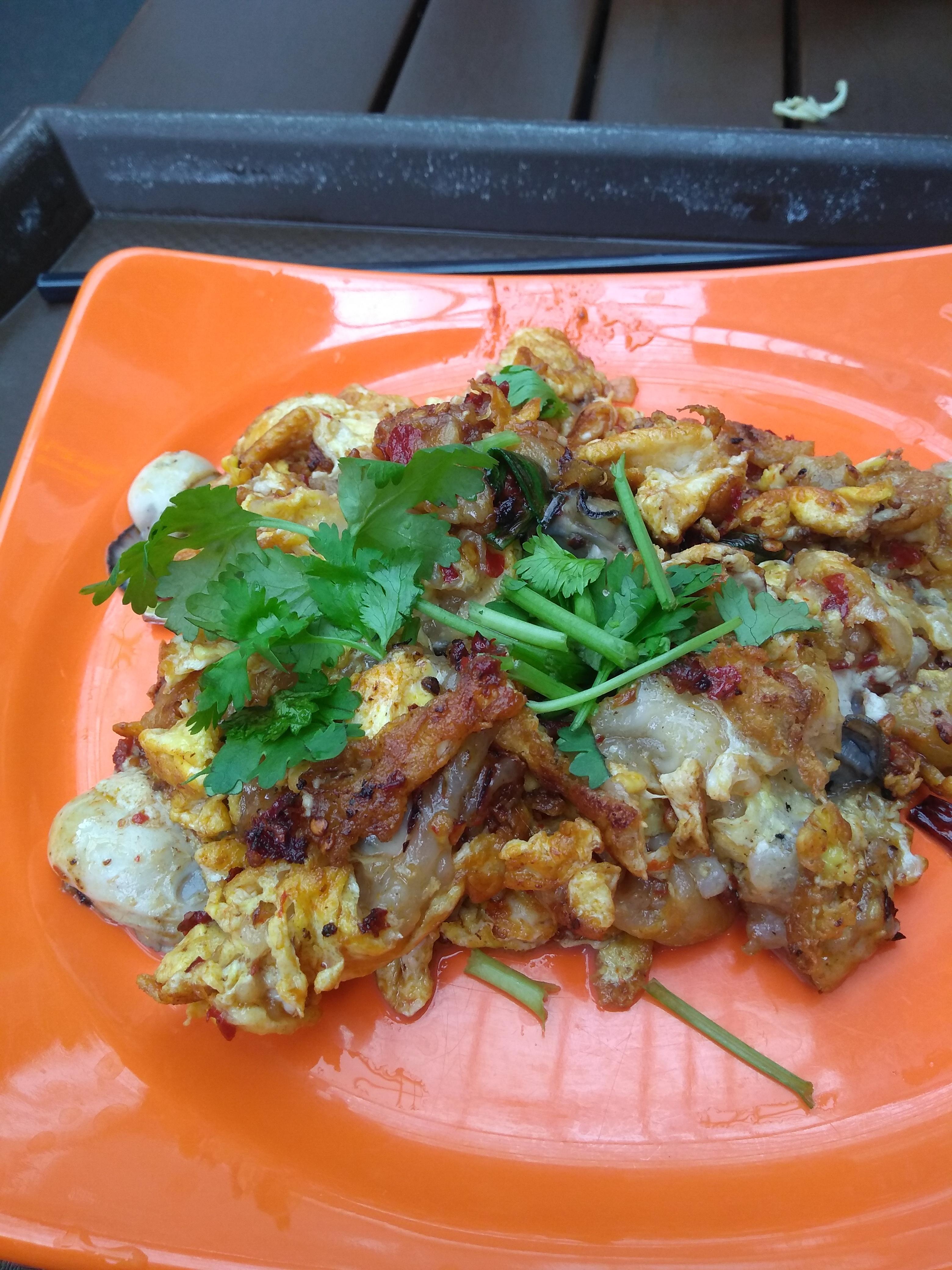 Oyester omelette - Chinatown