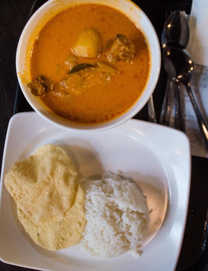 Sambal chicken curry