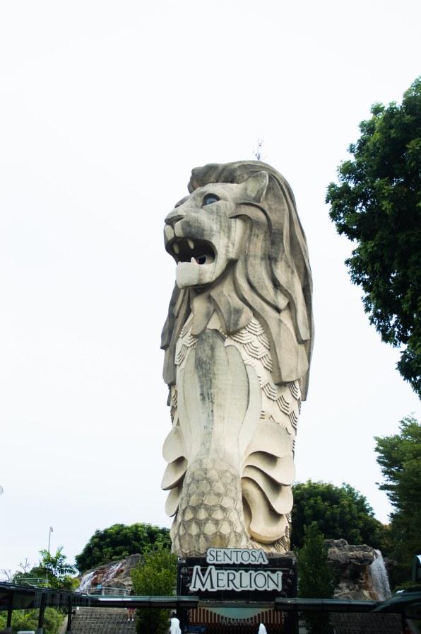 The Sentosa Merlion