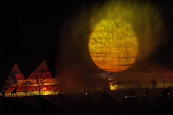 Light and Sound Show at Sentosa