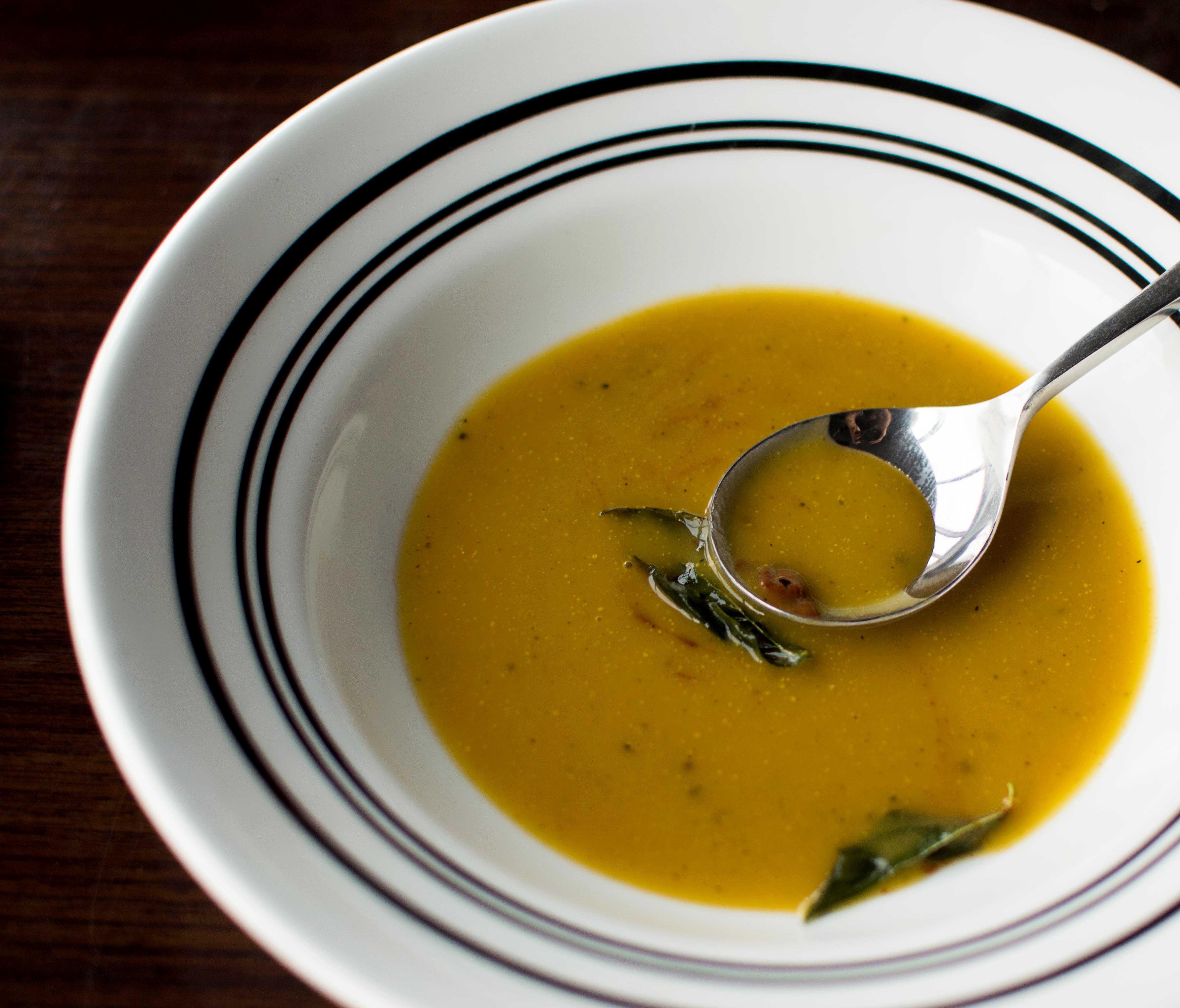 Piso16 Smoked Pumpkin soup